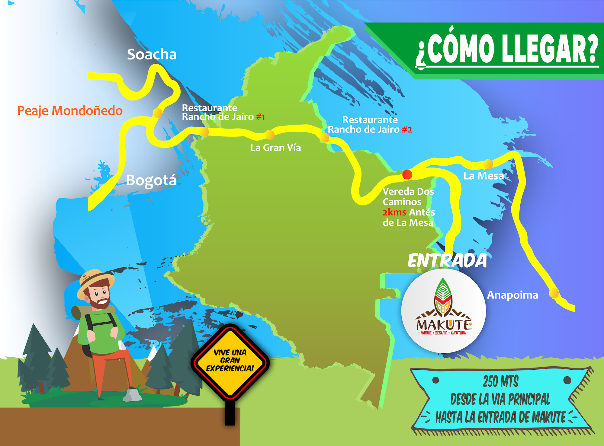mapa de como llegar